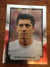 2014 Futera World Series Limited Soccer Card - Poland LEWANDOWSKI Mint