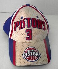 Detroit Pistons Baseball Hat Basketball Cap Youth 3 Ben Wallace Drew Pearson NBA