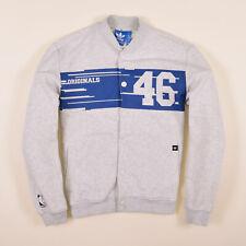 Adidas Herren Sweater Sweat Tracktop Gr.S NBA New York Knicks Jacke Grau 77404