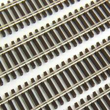 PECO N SCALE # SL-300F BOX OF 24 CODE 55 WOOD TIE FLEX TRACK SECTIONS