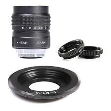 FUJIAN 25mm f/1.4 C Mount CCTV f1.4 Lens for Olympus Panasonic Micro 4/3 m4/3