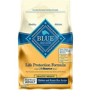 Blue Buffalo Life Protection Formula Natural Adult Small Breed Healthy Weight