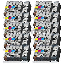 60* PACK PGI-220 CLI-221 Ink Tank for Canon Printer Pixma MP980 MP990 NEW