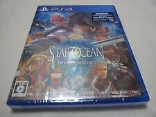 New 7-14 Days to USA PS4 Star Ocean 5 Integrity and Faithlessne Japanese Version