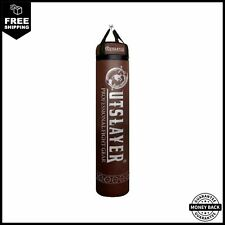Muay Thai Banana Punching Kicking Heavy Bag 6ft Tall 150lbs Unfilled