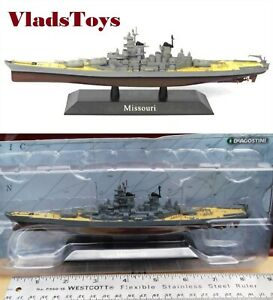 DeAgostini 1/1250 U.S. Navy battleship USS Missouri (BB-63) - 1944 DAKS17