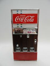 "Enesco Coca-Cola COKE Collectible Musical Bank 7-1/2"" VENDING MACHINE 1996 WORKS"
