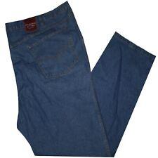 Jeans uomo taglie forti 57 59 61 63 65 67 69 71 73 75 denim leggero calibrato