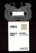 1x Oki 41067615 Metallic GOLD Farbband   Oki DP series Alps MD Citizen Printiva