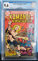 Kamandi The Last Boy on Earth #4 (1973) CGC 9.6 DC Comics Jack Kirby 1st Tuftan