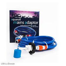 Aquaroll Mains Adaptor.Caravanning,  Motorhome Accessories.Official Adaptor