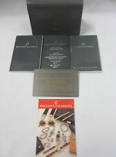 PHILIPPE CHARRIOL Watch Instructions/Info Books Wallet Open/Blank Guarantee Card