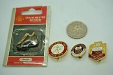 Collectible Sports Pins - Lot of 4 Manchester United FC Supporter Pins/Badge