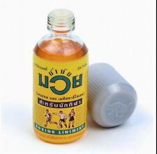 Namman Muay Thai Boxing Oil Liniment Muscular Pain Relief 120cc Bottle