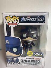 Funko Pop! Games: Marvel's Avengers Captain America GITD Best Buy Exclusive #627