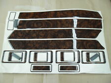 LAND ROVER DISCOVERY 200 89 to 94 DASH DOOR WALNUT WOOD ENHANCEMENT,18 PIECES