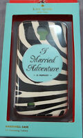 "KATE SPADE New York SAMSUNG GALAXY "" I Married Adventure"" HARDSHELL CASE NEW $40"