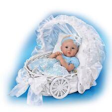 18'' Ella My Little Princess Lifelike Doll w/Carriage by Ashton Drake