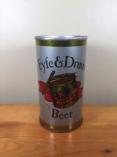 Vintage Beer Can Fyfe & Drum Genesee Brewing Rochester New York Steel Pull Tab
