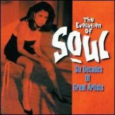 The Evolution of Soul ` Variety 60's No.1 Hits ~ SEALED-NEW ~ CD!!!