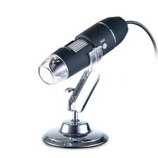 1000xMagnification USB Digital Microscope 8LED Camera Magnifier With Metal Stand