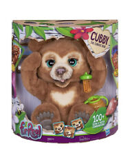 FurReal  Cubby The Curious Bear Interactive Plush Toy - Over 100 Sounds , New