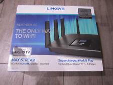 Linksys EA9500 Max-Stream AC5400 MU-MIMO Gigabit Wi-Fi Router New