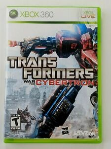 Transformers: War for Cybertron Microsoft Xbox 360, 2010 COMPLETE