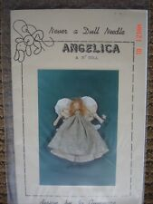 """Never a Dull Needle Doll Pattern Angelica Angel 15"""" Doll"""