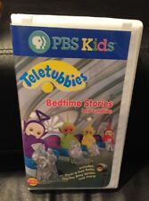 Teletubbies - Bedtime Stories and Lullabies VHS PBS Clamshell