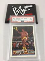 Andre The Giant 1990 Classic Wwf Series 2 Wrestlemaina 2 #16 Psa 9 Low Pop