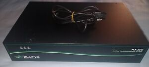 ZULTYS MX250 UNIFIED COMMUNICATIONS IP PBX 89-00250, MADE IN U.S.A., WORKS GREAT