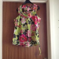 Next Ladies patterned top size 10