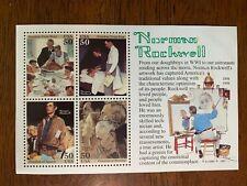 Us 2840 Norman Rockwell Mnh souvenir sheet