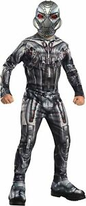 """Ultron Deluxe Kids Avengers Kids Costume, Large, Age 8 - 10, HEIGHT 4' 8"""" - 5'"""