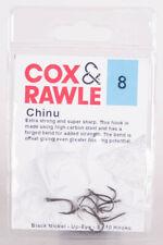 10 x Cox & Rawle Chinu Hacken Schwarz, Größe 8