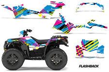AMR Racing Polaris Sportsman 850 Graphics Kit Wrap ATV Sticker Decals 2017 FLASH