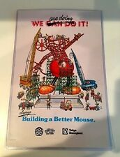"Disney D23 ""We are doing It!"" / ""always Building a Better Mouse."" Poster Print"