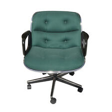 Green Fabric Executive Knoll Pollock Chair +150 available (MR15093)