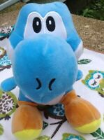 "6"" BLUE YOSHI Character Plush Super Mario Bros Stuffed Nintendo"