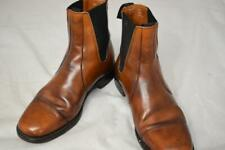 Mens Loake Bros Shoemaker Leather Brown Chelsea Boots Size UK 8