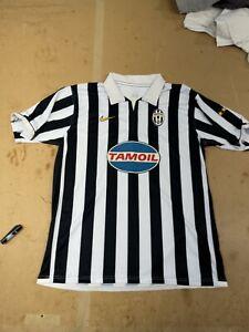 Maglia Calcio Juventus 2006 2007 Nike Tamoil Numero 10 Del Piero Taglia XL