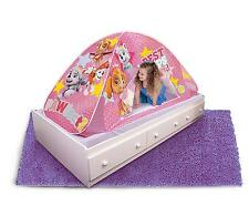 Paw Patrol 2 in 1 Tent Pink Playhut Bed Floor Tunnel Kids Girls Toddler Gift New