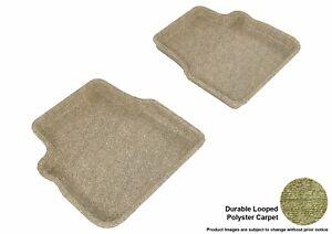 For 2009-2013 Subaru Forester Tan Carpet All Weather Floor Mat Set