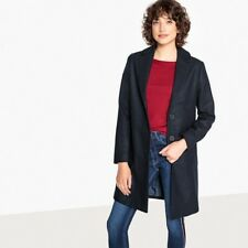 BN La Redoute Navy Lightweight Tailored Coat  UK 18