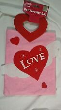 Felt  Love Heart  Handle 8 X 10 inch  Valentines Day for Cards  New
