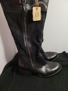 Ladies boots, Born, Size 7.5, black sb15stti