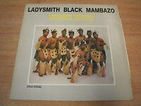 ladysmith black mambazo  Induku Zethu 1983  uk  pressing vinyl lp  african folk