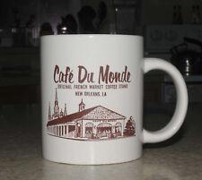 Original Cafe Du Monde New Orleans French Market Coffee Stand Cup Vintage Mug NR