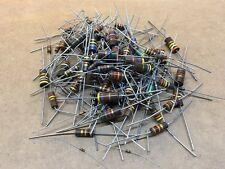 (100+ pcs) Carbon Comp Resistor - Grab Bag, assorted ratings and values